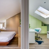 Maison Lamothe / Chambre + Bureau