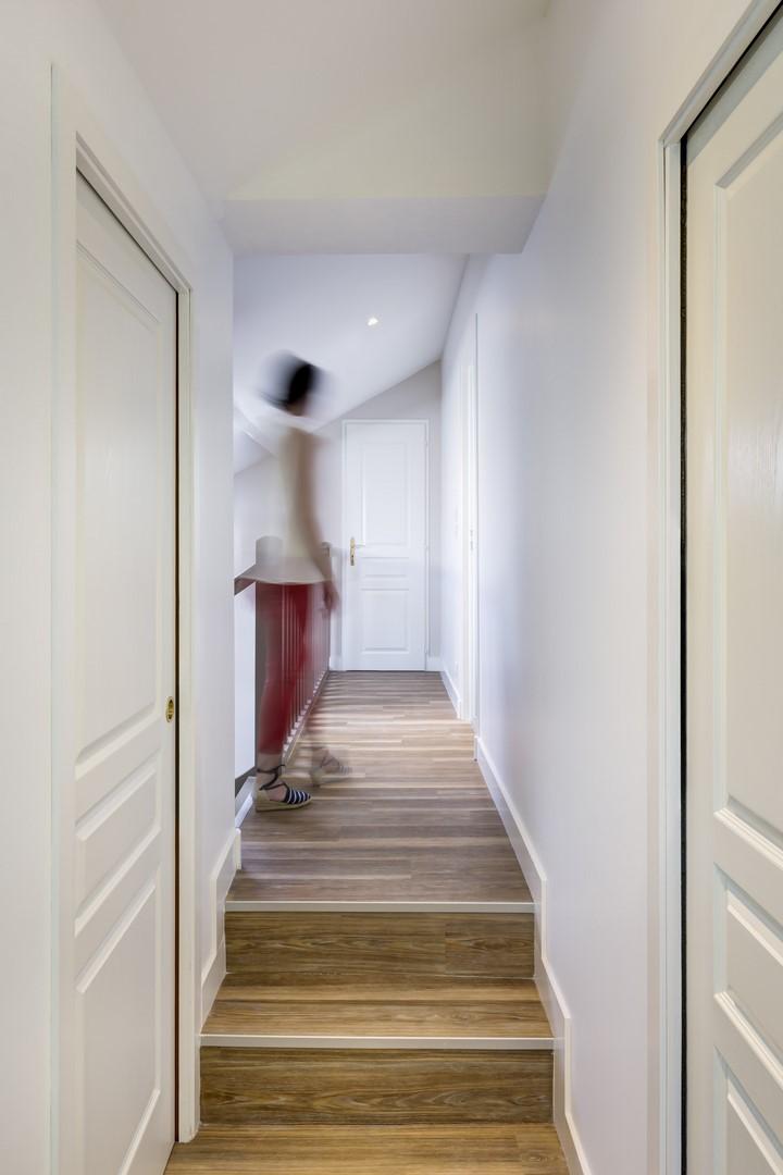 Maison lamothe couloir