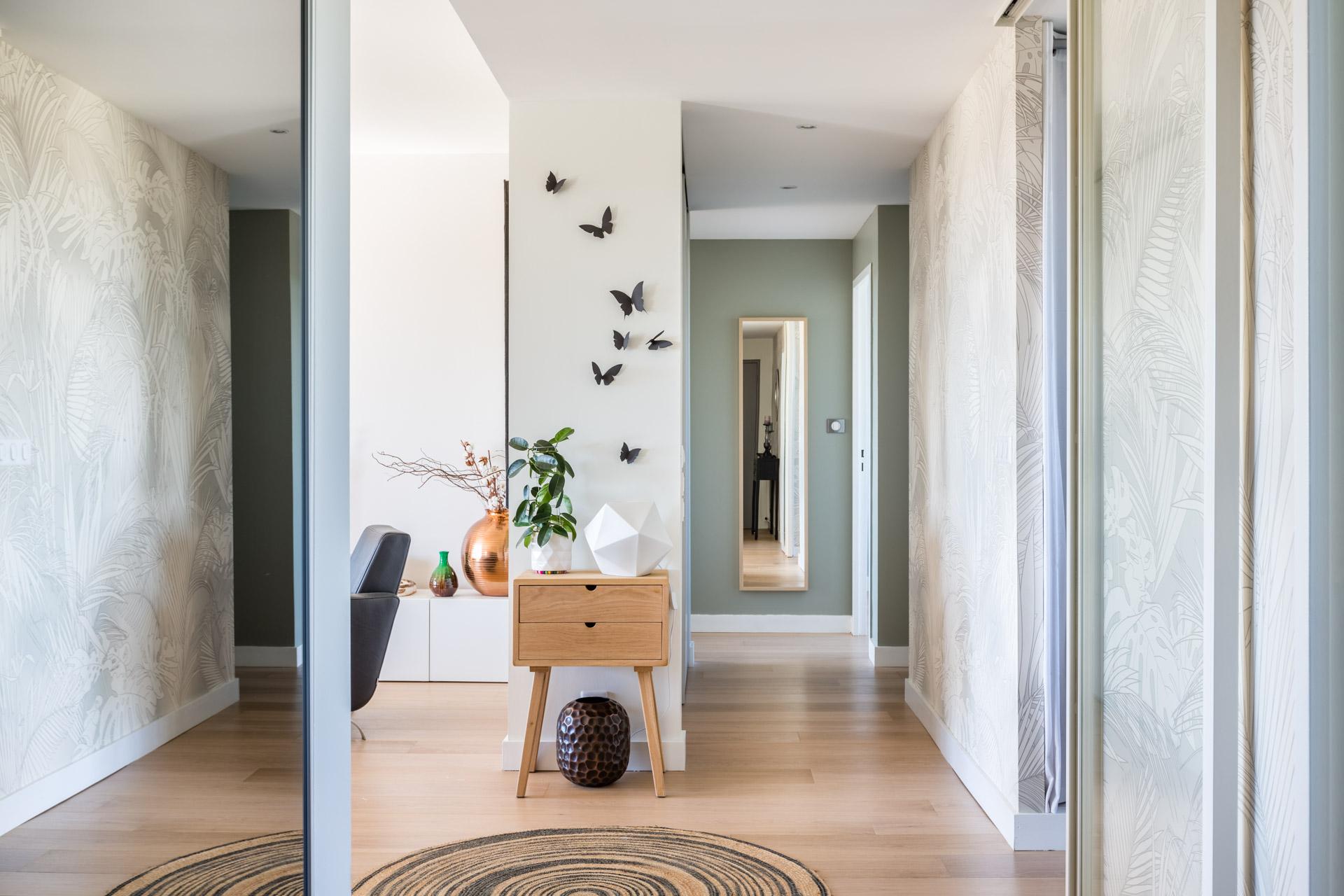 Salle De Bain Avec 2 Entrees rénovation appartement orsay * architecture intérieure