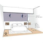 chambre esquisse architecture intérieure salon