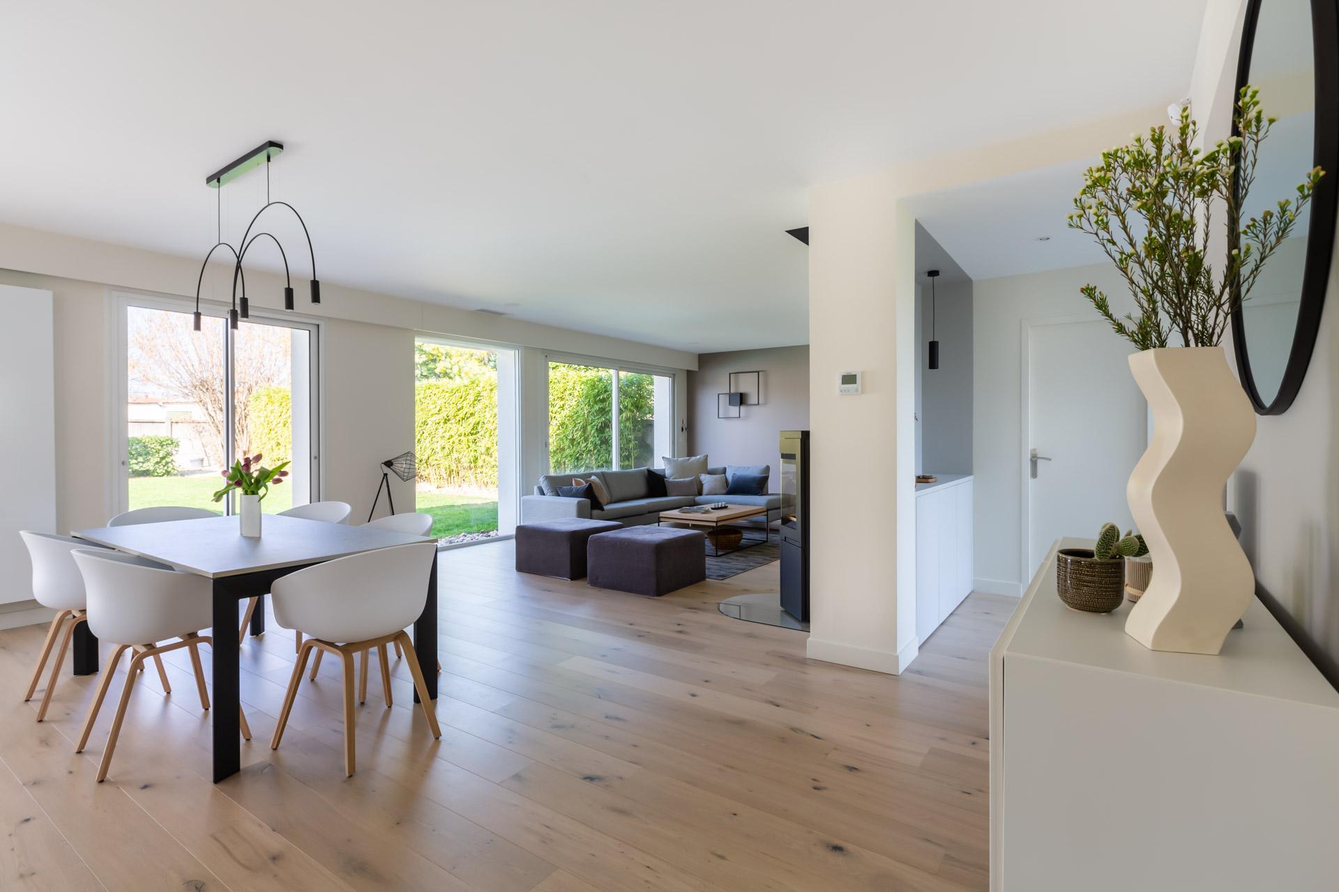 Cuisine Séparée Du Salon restructuration maison lièges * architecture intérieure